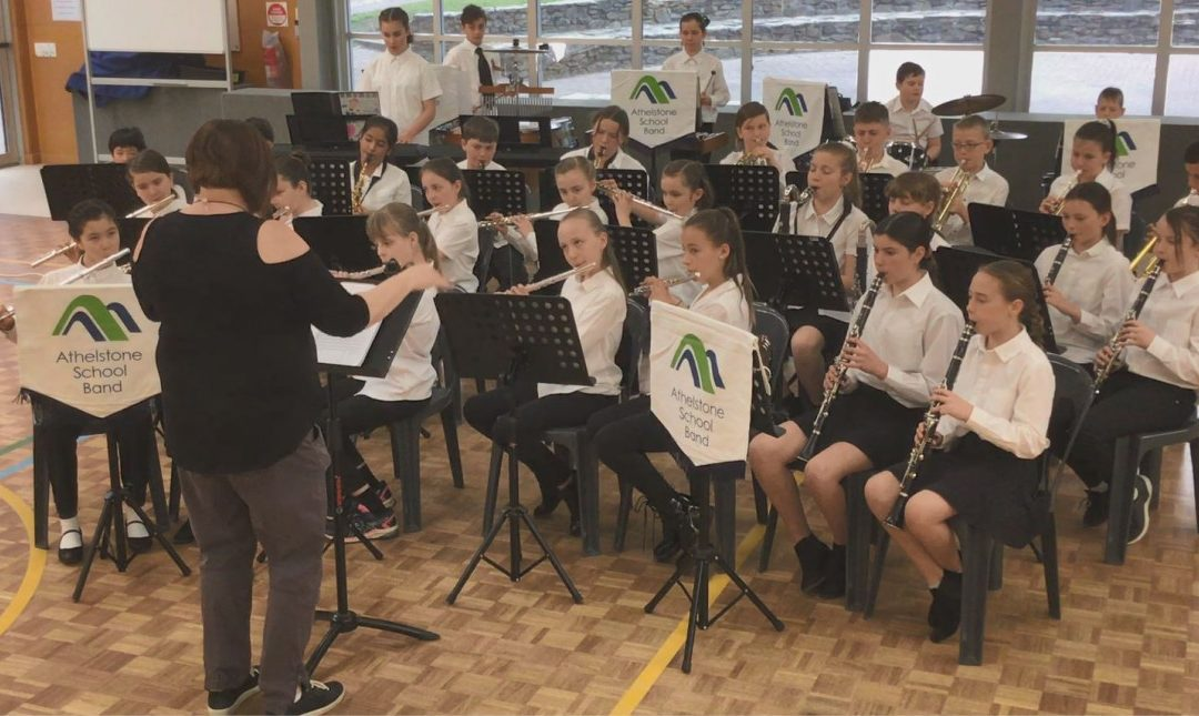 Athelstone School Band Wins Gold